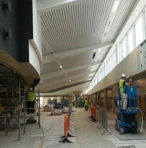 Edinburgh Airport Dalhem Ceiling Tiles1