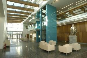 New Edinburgh Vet school Entrance